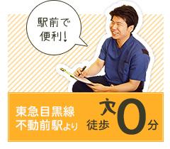 東急目黒線不動前駅より徒歩0分